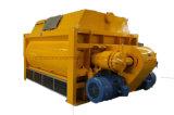 Js500, Js750, Js1000, Js1500, Js2000 Twin Shaft Concrete Mixer
