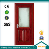 PVC Laminated Door for Interior Room with Glass