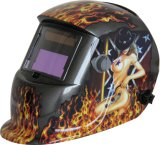 Hot Girl Picture Power Auto Darken Welding Helmet