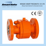 Yellow Color Forged Flanged End Ball Valve