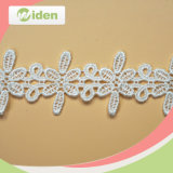 Flower Design Crochet Lace African Chemical Water Soluble Lace