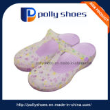 Wholesale Hollow Breathable Purple Latest Lady Sandal