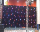 RGB Star Curtain LED Twinkle Cloth for Stage Background LED 3in1 Seven Color Curtain