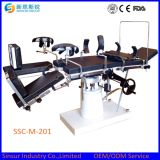 X-ray Available Manual Hospital Head-Controlled Operating Room Table