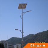 10m Solar LED Street Lighting with Double Arms