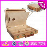 Red Beech Portable Artist Painters Easel Box Desktop Easel, Wooden Desktop Drawing Easel for Children W12b068