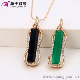 2016 Christmas Gift Copper Alloy Gold Plated CZ Charms Pendant