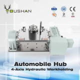 Automobile Hub Hydraulic Workholding Fixture with Doosan Mahcining Center