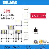 2.9m Aluminum Telescopic Ladder