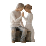New Arrival Factory Wholesale Willow Tree Resin Cake Toppers Figurine