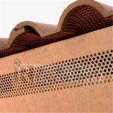 Brown Colored Aluminum Facade Cladding