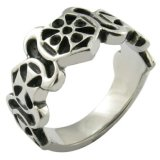 Letter Anillos Parsonalizados Spain Ring in Metal
