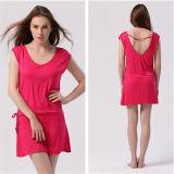 2014 New Fashion V-Neck Low Back Casual Beach Dress