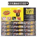 12PCS/Card Aluminum Tube Super Glue Fast Glue (TT0901)