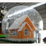 Inflatable Snow Globe for Christmas