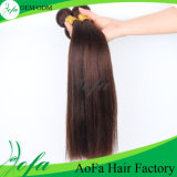 Hot Sale Unprocessed Brown Color Straight Brazilian Virgin Hair Extension