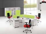Contemporary Furniture Small Office Cubicle 120 Degree Workstation