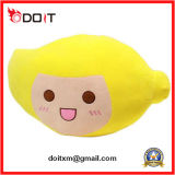 Yellow Plush Mango Shape Cushion Car Back Cushion