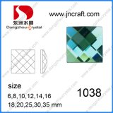 Dz-1038 Square Flat Back Glass Stone Glass Beads with All Sizes