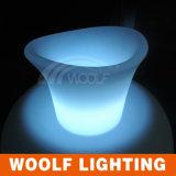 LED Lighting Commercial Wine Bottle Ice Bucket