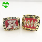 1991 1993 Copper Buffalo Bills Championship Rings Set with SGS