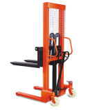1000kg Capacity Hydraulic Hand Lift Manual Forklift Pallet Stacker