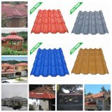 Excellent Corrosion Resistance Plastic Roofing Tiles for Villa