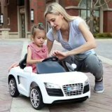 Ride on Battery Operated Baby Car with 12V Flashing Wheels Open Door