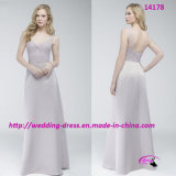Pure Nice Full Length Bridesmaids Dress with A-Line