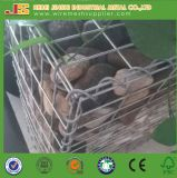 Hot-Dipped Galvanized Rock Welded Wire Stone Cage Gabion Retaining Wall