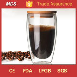Borosilicate Glass Double Wall Cappuccino Expresso Thermos Cup