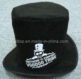 Black Felt Pop up Top Hat (PM005)