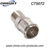 Quick Push on Male F to Female F Connector (CT5072)