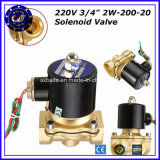 Small High Speed 2 Way Cheap 220V AC SMC Japan Solenoid Valve for 3/4 Inch 2W-200-20