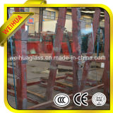 Colored Flat / Bent 6mm Tempered Glass Price with CE / ISO9001 / CCC