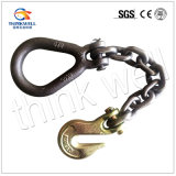 Galvanized Steel Chain Assembly with Pear Ring