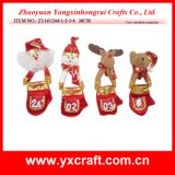 Christmas Decoration (ZY14Y244-1-2-3-4) Toy Christmas Decoration Crafts Christmas Decorations