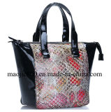 Fashion Lady Handbag with High Quality Genuine Leather (MJ-F0)