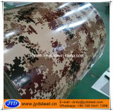 Army Camouflage Grain Printed PPGI Steel Coil