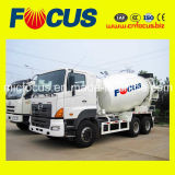 Ce&ISO Certified Truck Mixer with Hino Diesel Engine