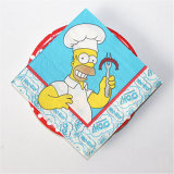 Cook Printed Party Paper Tableware Napkin