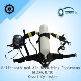 Scba Self-Contained Postisive Pressure Air Breathing Apparatus (RHZK6.0/30)