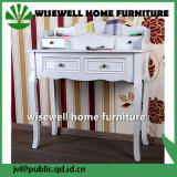Hot Modern Wood Bedroom Makeup Dresser Table Furniture Set (W-LZ-040)