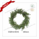 Dia 50cm Top Quanlity Decorative Plastic Christmas Wreath Door Hang Garland