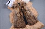 High Quality Lady Real Fox Fur Vest