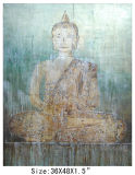 Traditional Buddhism Religion Oil Painting on Canvas (LH-700548)