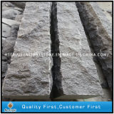 China Cheap Black Granite Palisade Kerb Stone for Construction Project