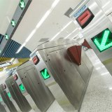 Classic Retracting Wing Optical Ticket Barrier Access Control