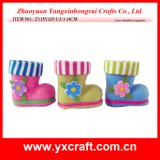Easter Decoration (ZY15Y325-1-2-3) Easter Butterfly Boot Easter Holiday Gift Use