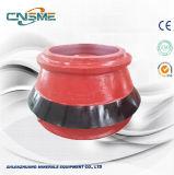 High Manganese Cone Crusher Wears Parts